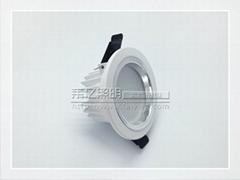中山2.5寸led壓鑄筒燈外殼