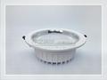 8寸LED白色压铸筒灯外壳套件 3