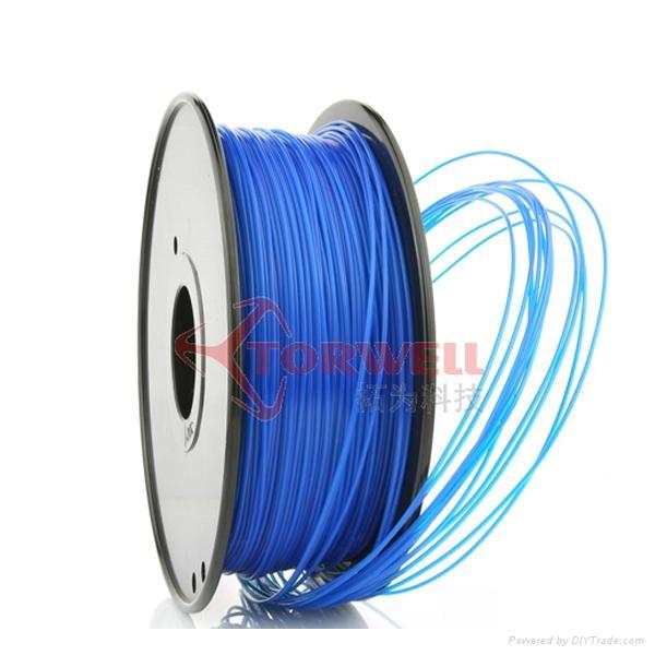 PLA filament 1.75mm Blue 3