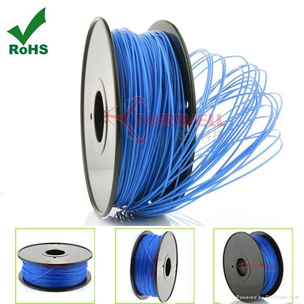 PLA filament 1.75mm Blue 4