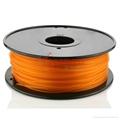 PLA filament 1.75mm Orange 1