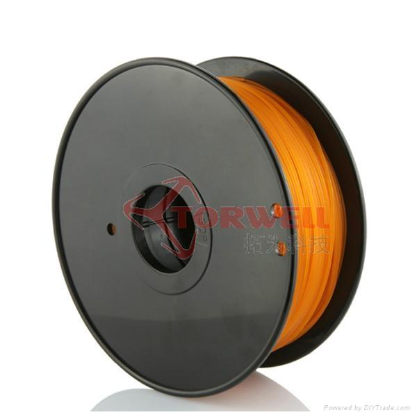 PLA filament 1.75mm Orange 2