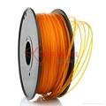PLA filament 1.75mm Orange 3
