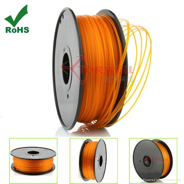 PLA filament 1.75mm Orange 4