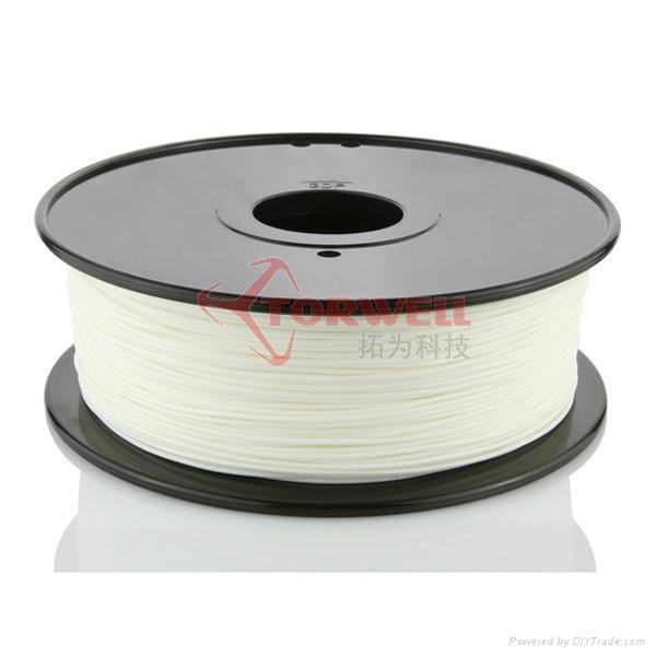 PLA filament 1.75mm White 1