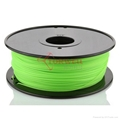 PLA filament 1.75mm Green