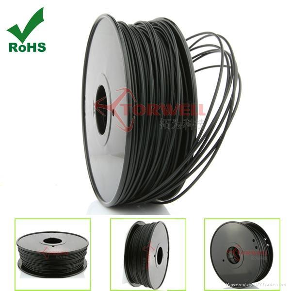 PLA filament 1.75mm Black 4