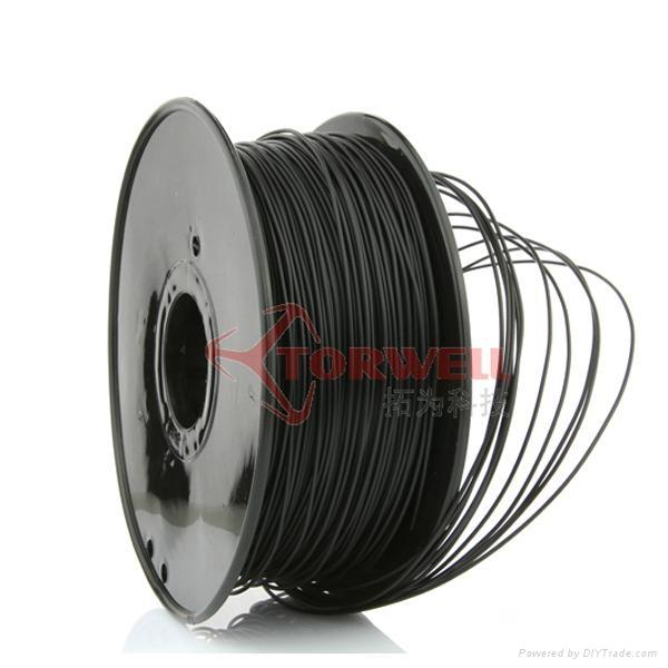 PLA filament 1.75mm Black 3