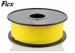 Flex Filament 1.75mm Yellow