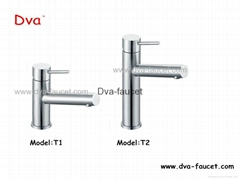 Stainless steel bathroom basin faucet