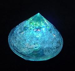 Flashing Ice Cube in diamond shape