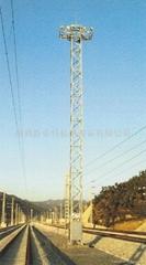 昇降式投光燈塔