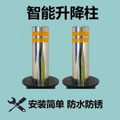 昇降柱不鏽鋼液壓防衝撞路樁電動遙控昇降地柱路障廠家直銷