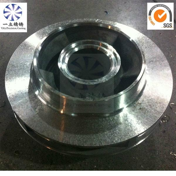 Investment casting stainless steel Pump Impeller with ...