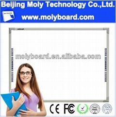 multi touch interactive whiteboard smart board