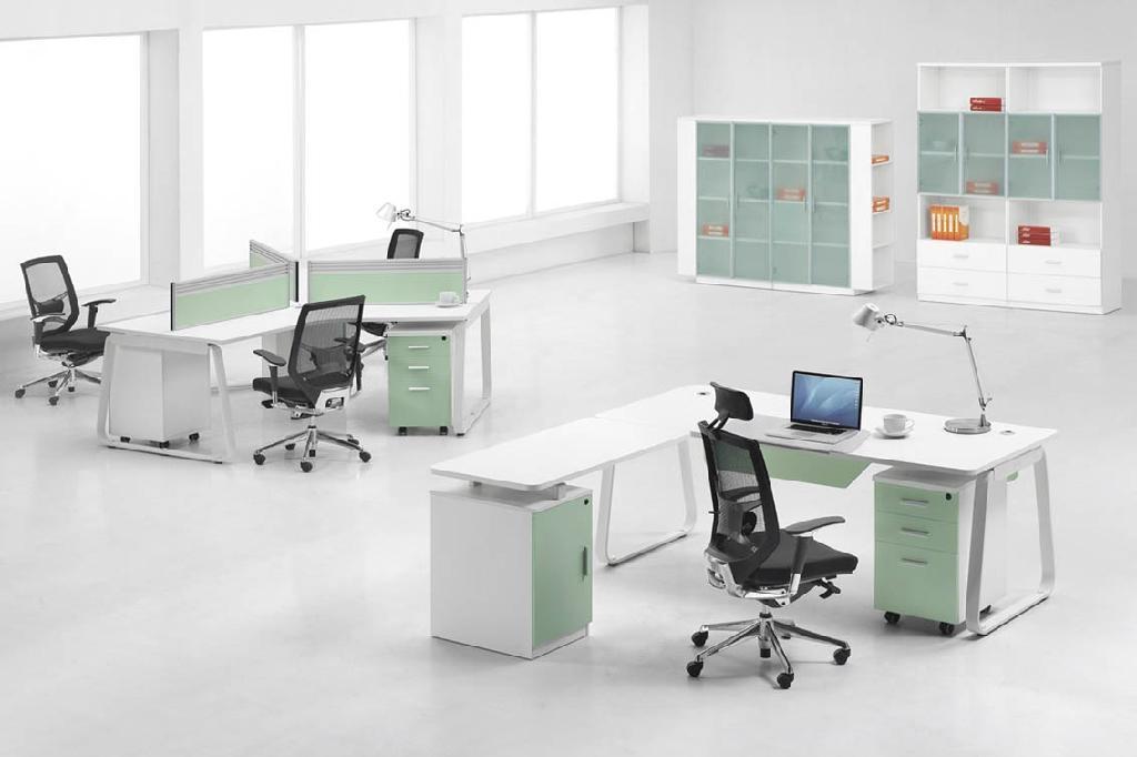 東莞辦公屏風4人位屏風隔斷辦公桌 2