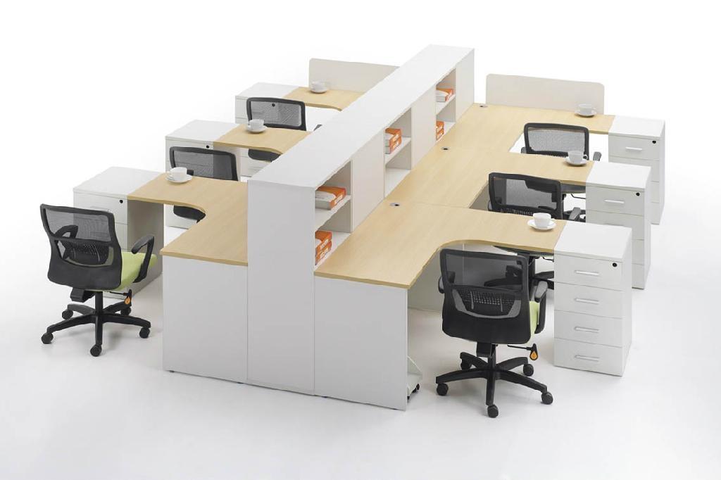 東莞辦公屏風 簡約職員辦公卡位 辦公傢具 國信傢具 3