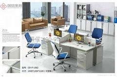 东莞办公室家具厂家 屏风办公桌卡座厂家直销 办公桌 国信