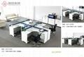 東莞辦公傢具時尚鋼架辦公屏風桌厚街辦公室傢具廠家 4