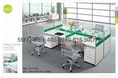 現代職員卡座 屏風隔斷辦公桌 東莞辦公屏風 厚街辦公室傢具廠家