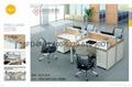 現代職員卡座 屏風隔斷辦公桌 東莞辦公屏風 厚街辦公室傢具廠家 3