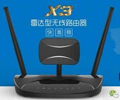 SeaPai仕牌 雷達型無線路由器X3