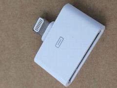 苹果30PIN转iPhone 5转接头(充电和数据)