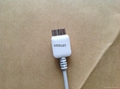 white Micro USB 3.0 OTG Host Adapter Cable for Samsung Galaxy Note 3 S5 Round