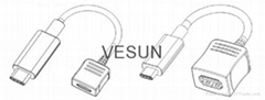 USB 3.1 C type 延長線