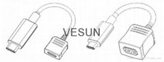USB 3.1 C type 延长线