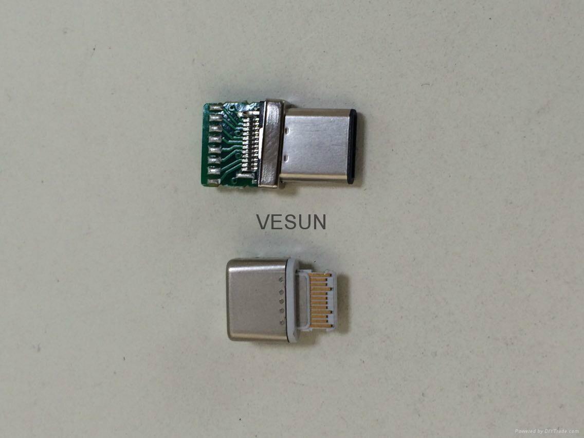 USB 3.1 C TYPE 母座 4