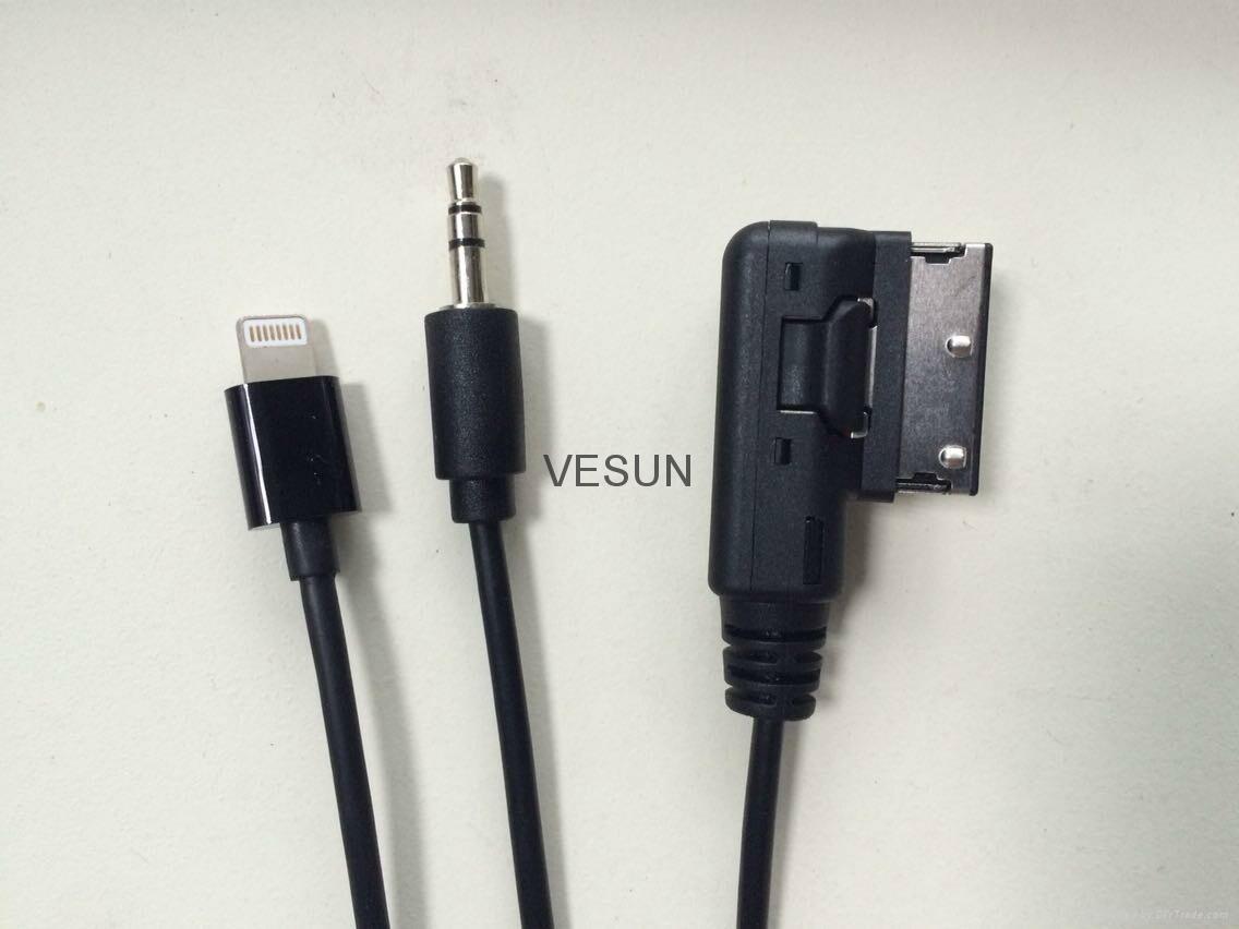 奥迪AMI  iPhone6/PLUS 音频输入线 2