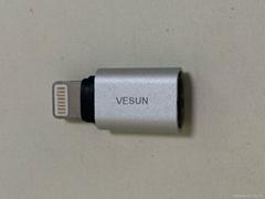 Lighting to Micro USB adapter