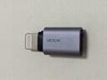 Micro转iPhone5 6/6Plus转接头 铝制外壳