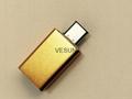 USB3.1 公转USB3.0母转接头(铝壳)