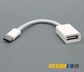 USB3.1  Type-C 转USB3.0母转接线,USB3.1 Type-C OTG线 1
