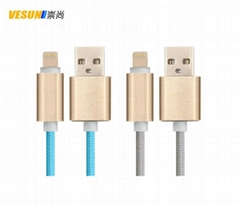 Luxury gold Lightning cable