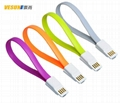 Magnetic Flat USB Data Changer Cable