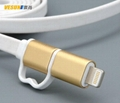 MICRO USB/Lightning to USB cable  3