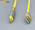 MICRO USB/Lightning to USB cable 2