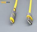 MICRO USB/lightning二合一數據線 2