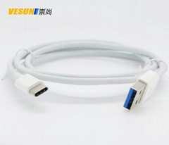 USB3.1 Type-c转USB3.0充电数据线