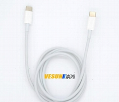 USB3.1 Type-C TO USB3.1 Type-C 充电连接线2.0版本