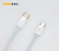 USB3.1  Type-C 轉Micro USB轉接線蘋果電腦安卓手機充電線 2