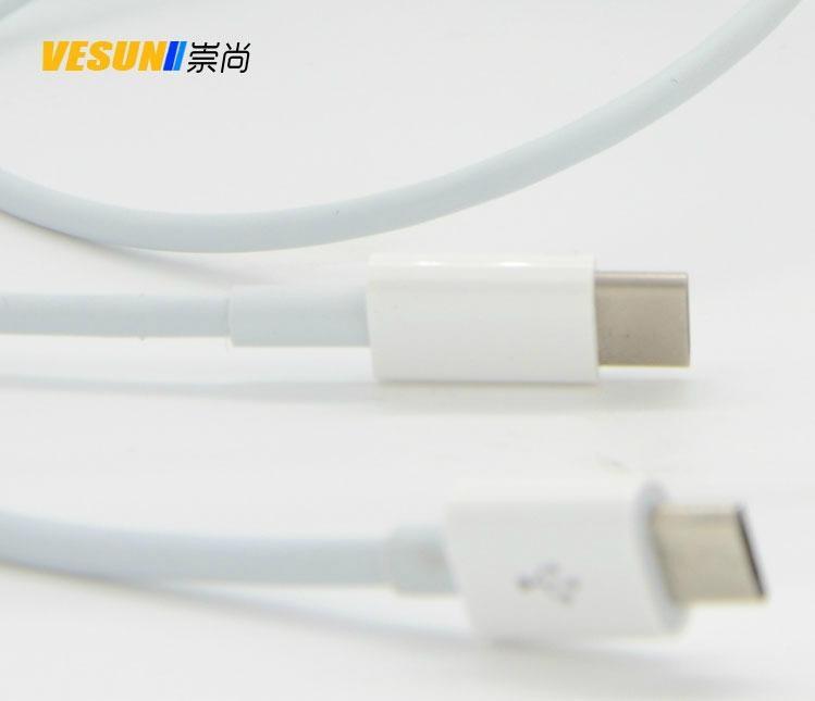 USB3.1  Type-C 轉Micro USB轉接線蘋果電腦安卓手機充電線 1
