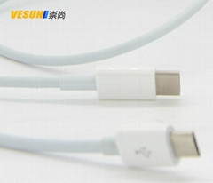 USB 3.1 Type C to Micro USB 2.0 Cable for Apple MacBook 12 ""