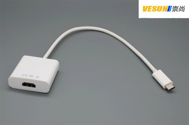 USB3.1 TYPE C轉HDMI轉接線 1