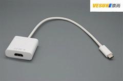 USB3.1 TYPE C转HDMI转接线