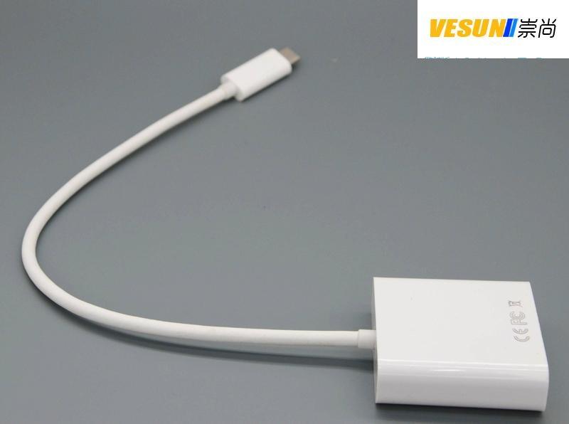 USB3.1 TYPE C轉HDMI轉接線 2