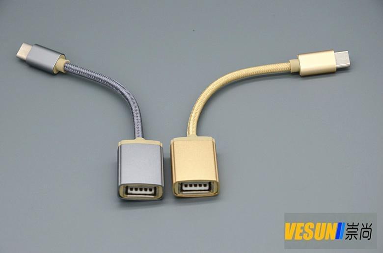 USB3.1 Type-C 轉USB3.0母轉接線,USB3.1 Type-C OTG線  1